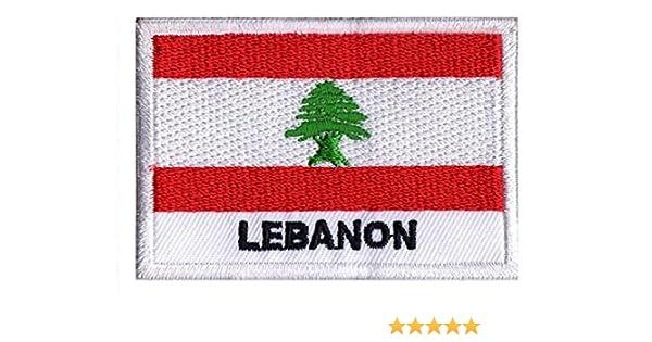 NagaPatches, Parche con la bandera del Líbano: Amazon.es: Deportes y aire libre