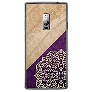 Loud Universe OnePlus 2 Madala N Marble A 7 Printed Transparent Edge Case - Multi Color
