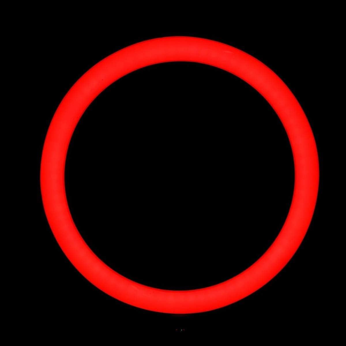 WUSHIYU Ring Light 6500K Dimmable Selfie Photo Lamp LED Ring Light Phone Holder for Make Up Live Studio 13 Inch Camera Photo Video Lighting Color : White, Size : 13inch