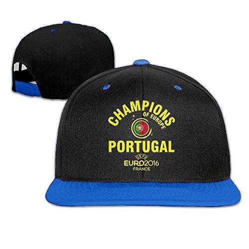 MaNeg Portugal 2016 Soccer Champion Unisex Hip Hop Baseball Cap&Hat