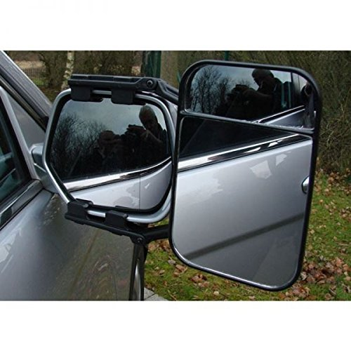 Renault Kadjar Caravan Trailer Extension Towing Dual Mirror Glass Convex Single