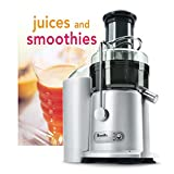 Breville Juice Fountain Plus Juice Extractor with Bonus Tuttle Juices and Smoothies Cookbook