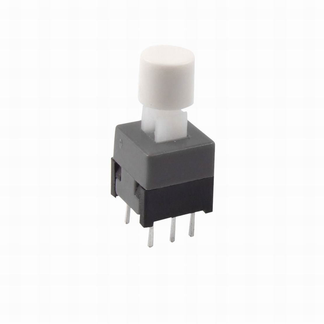 Ucland 6-Pin Self Lock Tactile Push Button Switch, 8.5 x 8.5 x 14mm