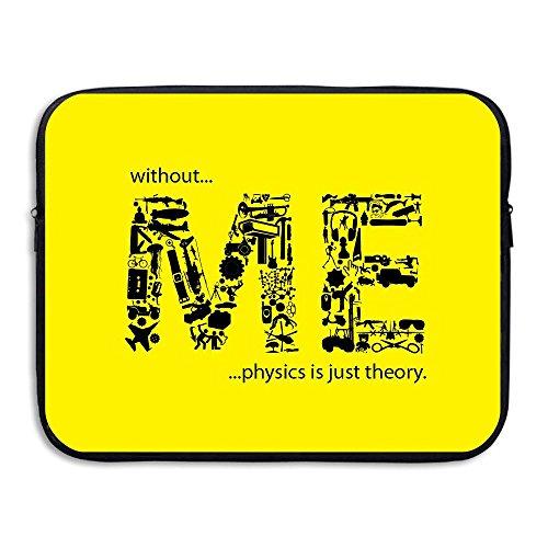 Laptop Sleeve Bag Me Letters Design Waterproof Computer Bag Zipper Notebook Case 15 Inch -