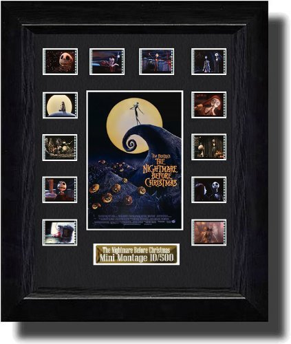 The Nightmare Before Christmas Filmcell, holographic serial numbered by Filmcell.co.uk