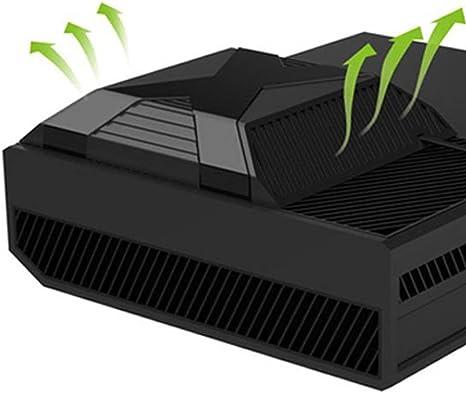 Pandaren® cooler refrigerador inteligente ventilador para Xbox One funciona cuando la temperatura de más de 35 ℃: Amazon.es: Videojuegos