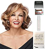 Bundle - 5 items: Crowd Pleaser by Raquel Welch Wig, 15 Page Christy's Wigs Q & A Booklet, Wig Shampoo, Wig Cap & Wide Tooth Comb (Color Selected: RL2925)