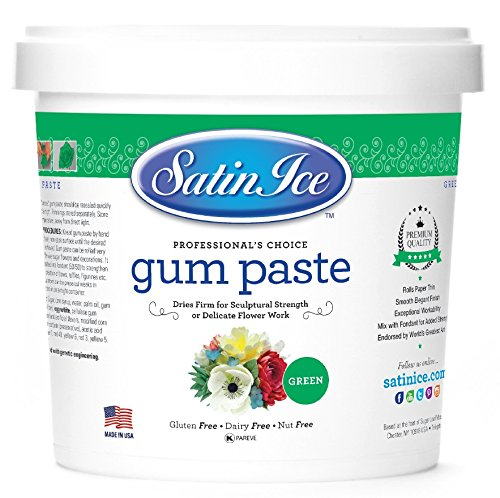 Satin Ice Green Gum Paste, 2 Pounds, Decorative Sugar Icing by Satin Ice (Image #8)