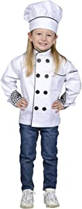 Aeromax Junior Chef Kitchen Costume, White, Large