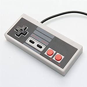 Simply Silver - Details about NEW Classic Wired USB Game Controller Gamepad for Nintendo NES PC Windows & Mac