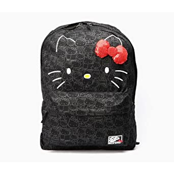 4d242a7de Image Unavailable. Image not available for. Color: Vans Hello Kitty  Blueprint Backpack ...