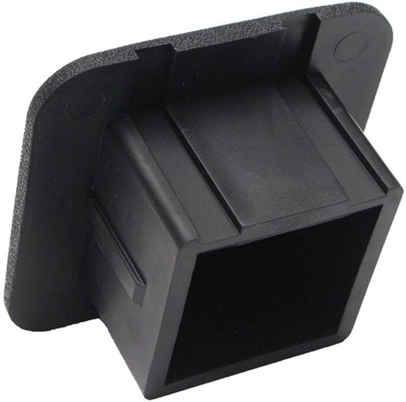 Trailer Hitch Tube Cover Plug Cap 【US Stock】 Trailer Hitch Cover Black 2 inch Tow Receiver Tube Plug Cap Black Hitch Hole Insert Rubber Receiver Tube Hitch Plug
