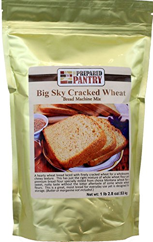 Cracked Wheat Bread Mix - The Prepared Pantry Big Sky Cracked Wheat Bread Machine Mix, 75.2 Ounce
