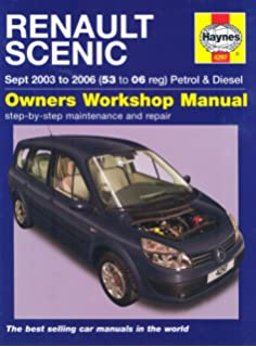 Peugeot 307 petrol and diesel owners workshop manual 2001 to 2008 renault scenic petrol and diesel service and repair manual 2003 to 2006 service fandeluxe Choice Image