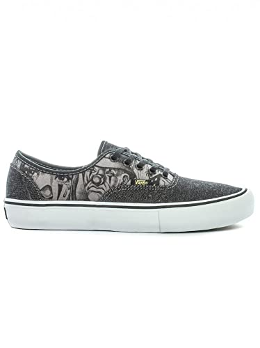 c230bd417634b9 Vans Syndicate Authentic S Mr Cartoon Shoes - Black Gold UK 12 ...