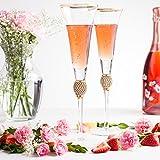 Trinkware Wedding Champagne Flutes
