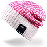 Mydeal Winter Unisex Bluetooth Beanie Hat Warm Skully Cap w/Wireless Headphone Headset Earphone Stereo Speaker Mic Hands Free for Outdoor Sport Skiing Snowboard Skating Hiking Camping,Christmas Gifts