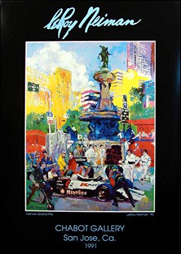 LeRoy Neiman Poster Denver Grand Prix Fine Art Gallery