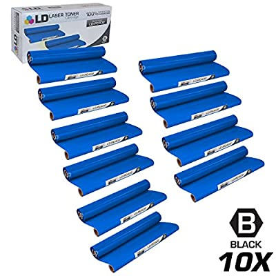 LD Compatible Replacements for Brother PC402 Set of 10 Thermal Fax Ribbon Refill Rolls for use in Brother FAX 560, FAX 575, FAX 580MC, Intellifax 560, 565, 580MC, and MFC-660MC Printers