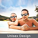 Swim Goggles Swimming Goggles No Leaking with Nose