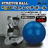 エムネット(M-net) ストレッチボール 65cm MN121 メンズ レディース MN121(ブルー) 約65cm