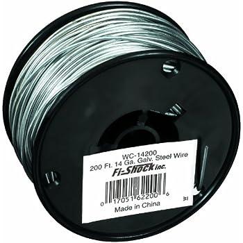 Amazon Com Fi Shock Wc 14200 200 Feet 14 Gauge Spool
