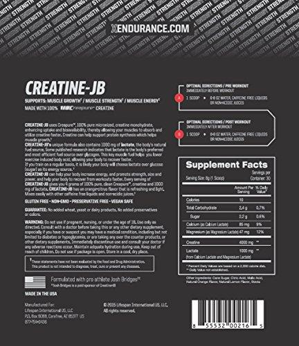 Xendurance Creatine JB with Creapure Supplement