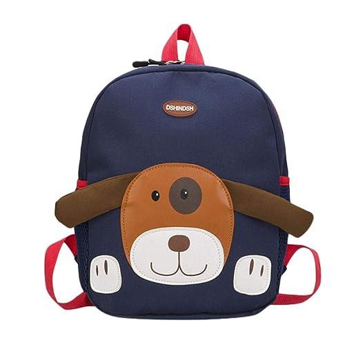 FAMILIZO_Bolsos Niñas Bolsos Niñas Infantil bebés de los niños empacan el bolso de la historieta del patrón del perro de la mochila del niño: Amazon.es: ...