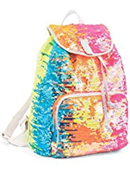 Balera Rainbow Sequin Dance Bag Cheer Gymnastics Pageant Travel Backpack