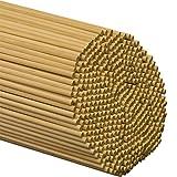 """Wooden Dowel Rods 1/4"""" x 12"""" - Bag of 100"""