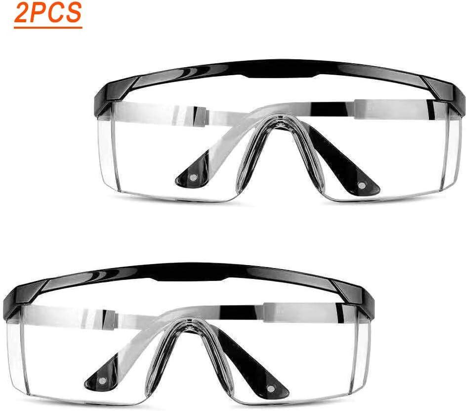 Gafas anti-salpicaduras integrales Gafas transparentes Salpicaduras y arena para Gafas de seguridad