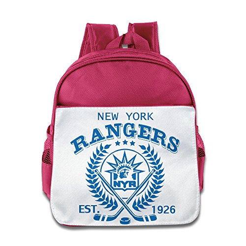 HYRONE New York Logo Rangers Kids Children Shoulders Bag For 1-6 Years Old Pink