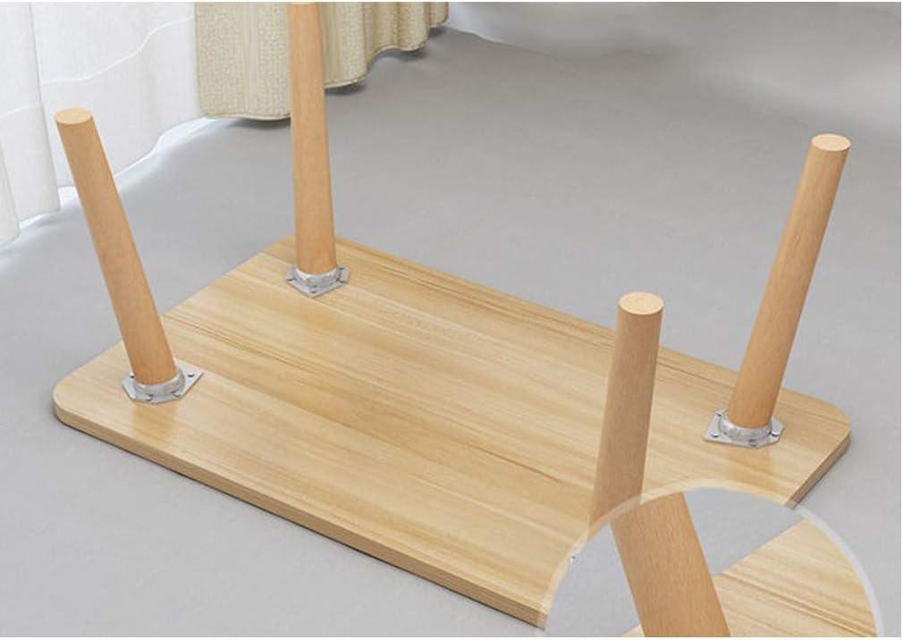 Juego de 4 Patas de Muebles de Madera Maciza,Patas de Repuesto,para Mesa//Armario//Mesa de Centro//Banco//Estanter/ía//Mueble de TV,con Accesorios de Montaje 60cm//23.62in