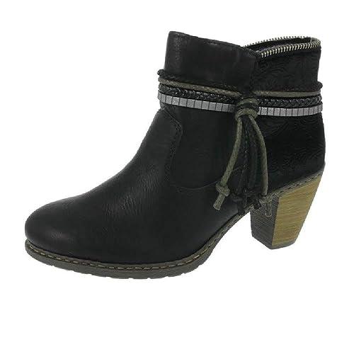 Rieker L6506 Damen Kurzschaft Stiefel