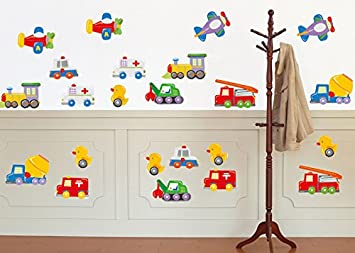 Nursery Wall Decals, Nursery Car Wall Decor, Nursery Car Wall Stickers,  Kidsu0027