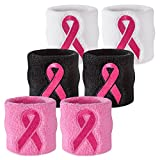 Suddora Pink Ribbon Wristbands - Breast Cancer