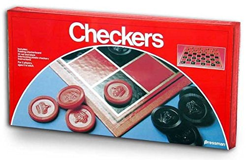 (Pressman Toy Checkers Folding Board Game-1 Pack)