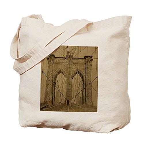 CafePress gamuza de–Puente de Brooklyn–lona bolso, bolsa de la compra