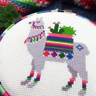 Cross Stitch Pattern Llama - Chart Only: Handmade