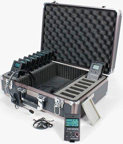 Williams Sound DWS INT 2 300 Digi-Wave Language Interpretation System; Can accommodate floor (or common) language, plus one language, expandable up to 14 languages; Quick set-up ()