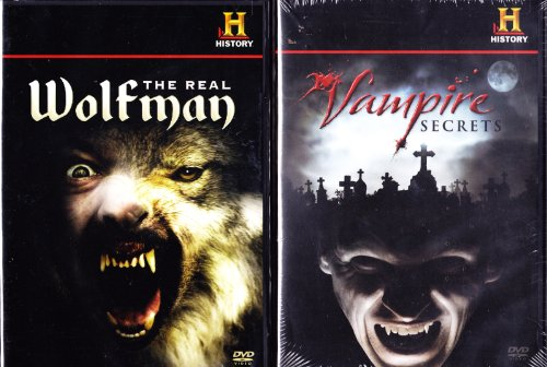 (The History Channel : The History Of Werewolves The Real Wolfman , The History Of Vampires Vampire Secrets : Halloween 2)