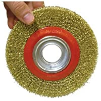 "Toolzone 6"" Wire Wheel For Bench Grinder by"