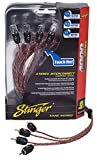 Stinger SI4417 17-Foot 4000 Series Professional 4 Channel RCA Interconnects