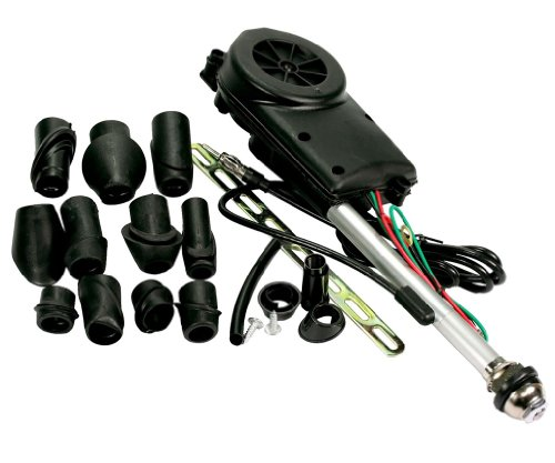 (Car Aerial Universal Radio Amount Automatic Booster Antenna+11 Heads Set Z022 UK)