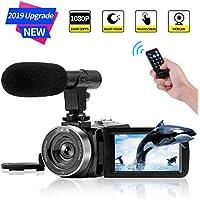 Camcorder Digital Video Camera FHD 1080P 30 FPS Vlogging...