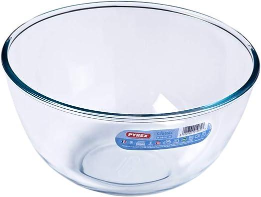 Pyrex Classic - Bol de vidrio para mezclas de 3 litros: Amazon.es ...