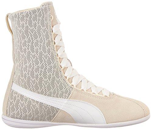 Sneakers Alte Con Puma Per Donna Eskiva Con Stampa Bianca