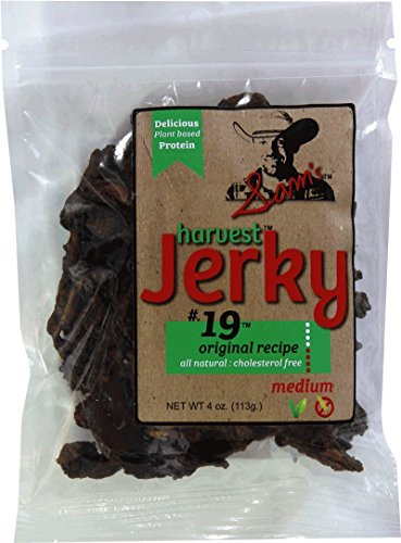 Sam's Harvest Jerky - Original Recipe, 4 oz. Bag (Pack of 4)