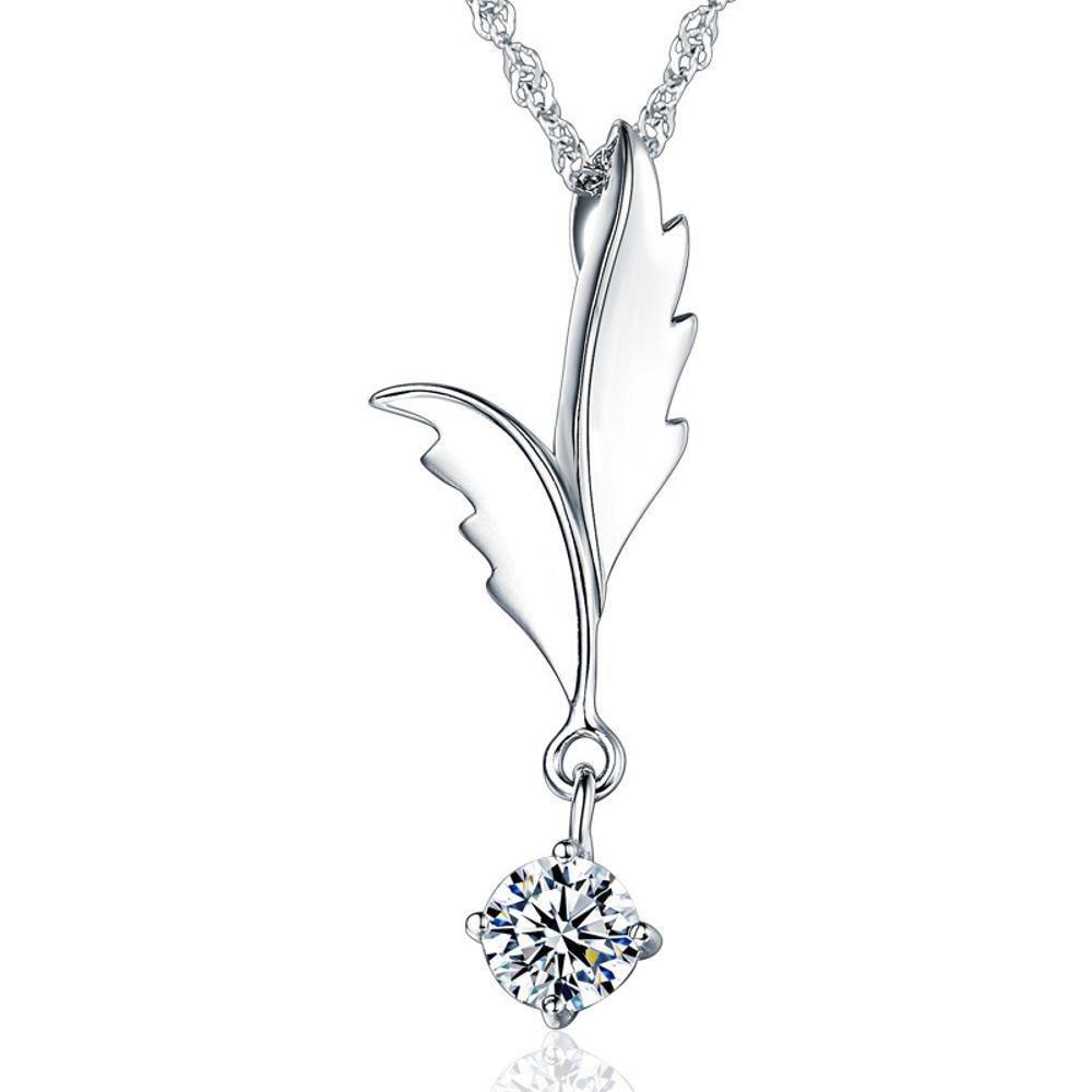 鎖骨チェーンの女性のギフトが付いているLiudaye s925の純銀製のネックレスのペンダント   B07FW2LZTC