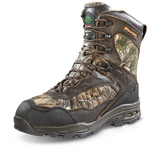 WOOD N STREAM Mens Maniac X-Static Hunting Boots 440 Gram Realtree Xtra Camo Realtree Xtra Bwrox8K90W